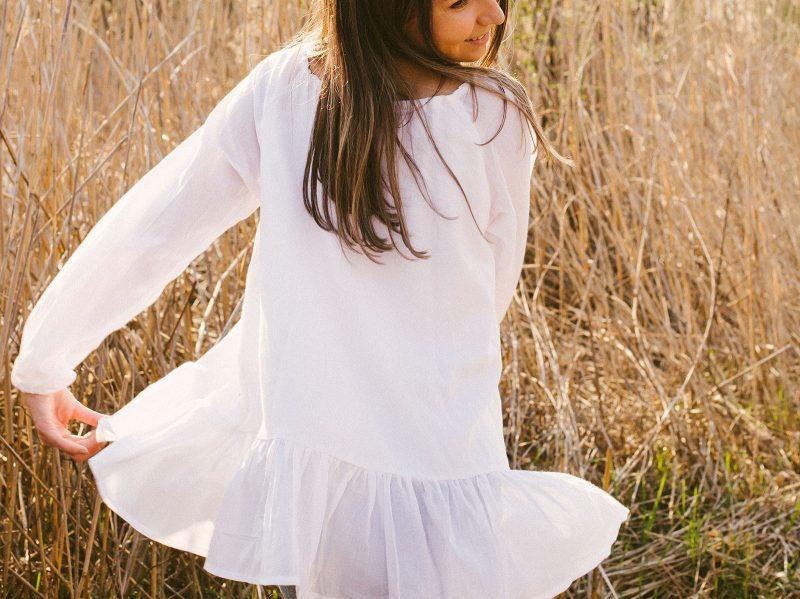 Bluza femei confortabila lejera snur bumbac vascoza natrala