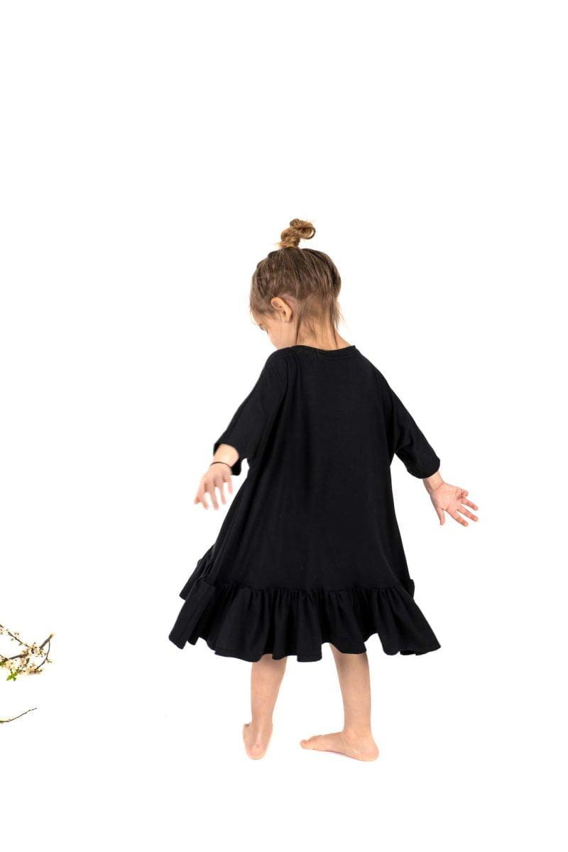 rochita lali bumbac moale confortabila neagra