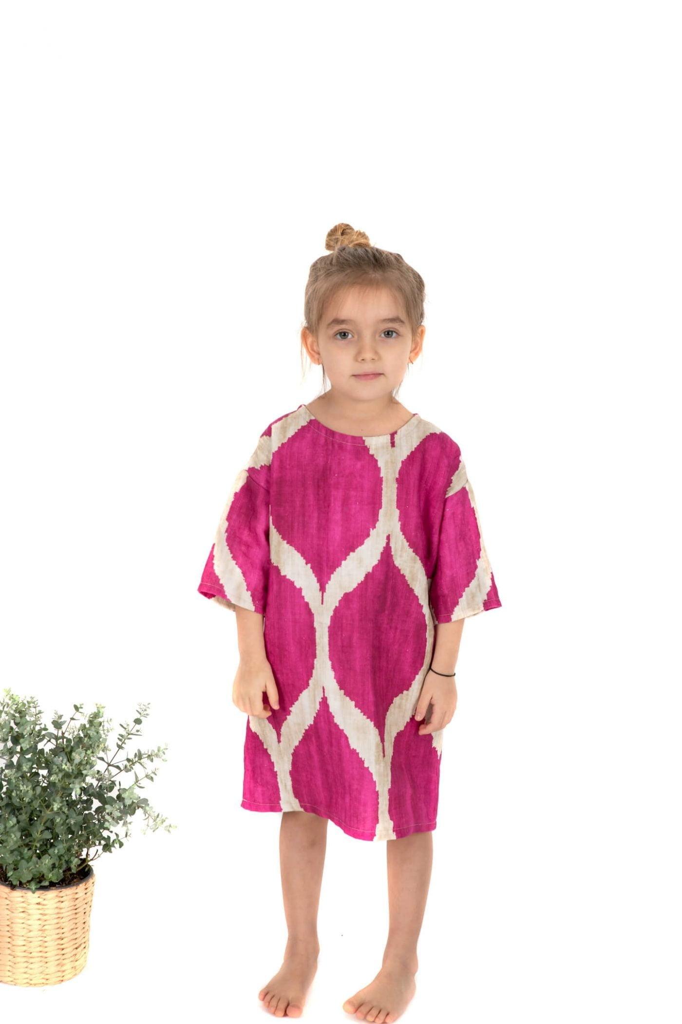 rochita lali confortabila colorata simpla material in
